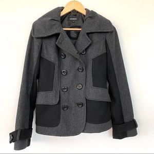 🌺 HOST PICK 🌺 Guess, fitted two-tone pea coat